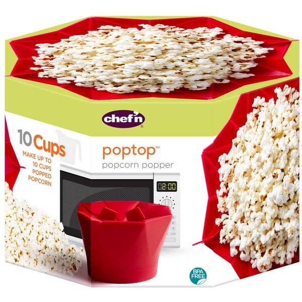 PopTop המקורי להכנת פופקורן טעים ובריא Chef'n