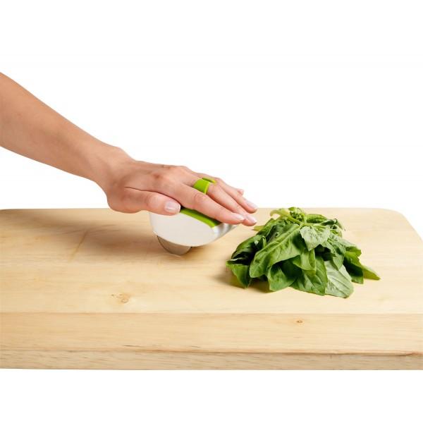 קוצץ עשבי תיבול מתגלגל – מותאם לכף ידך Chef'n, ללא BPA