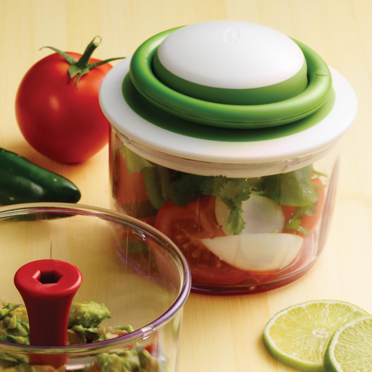 VeggiChop מעבד מזון ידני – ירוק Chef'n