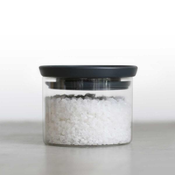 קופסה זכוכית, מכסה שחור 0.3 ליטר Brabantia