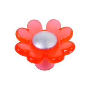 כפתור פרח אדום 8085/32