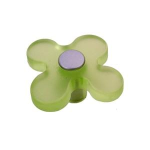 כפתור פרח ירוק בהיר 8116/50