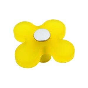 כפתור פרח צהוב 8116/50