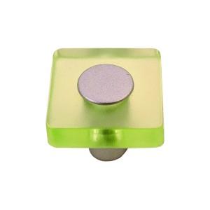כפתור מרובע ירוק בהיר דגם 8118/30