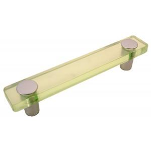 """ידית מלבן ירוק בהיר דגם 8119 מידה 96מ""""מ"""