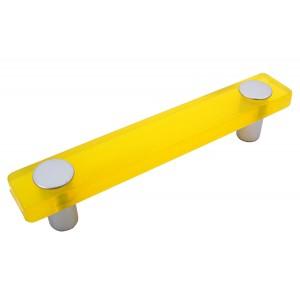 """ידית מלבן צהוב דגם 8119 מידה 96 מ""""מ"""