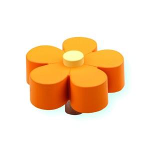 כפתור פרח תפוז – קרם