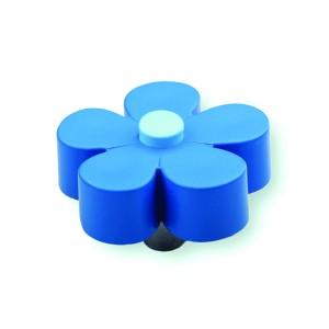 כפתור פרח כחול – תכלת