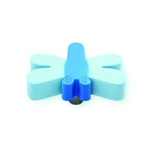 כפתור שפירית תכלת – כחול