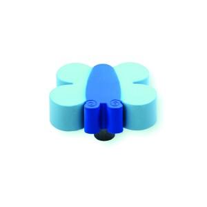 כפתור פרפר תכלת – כחול