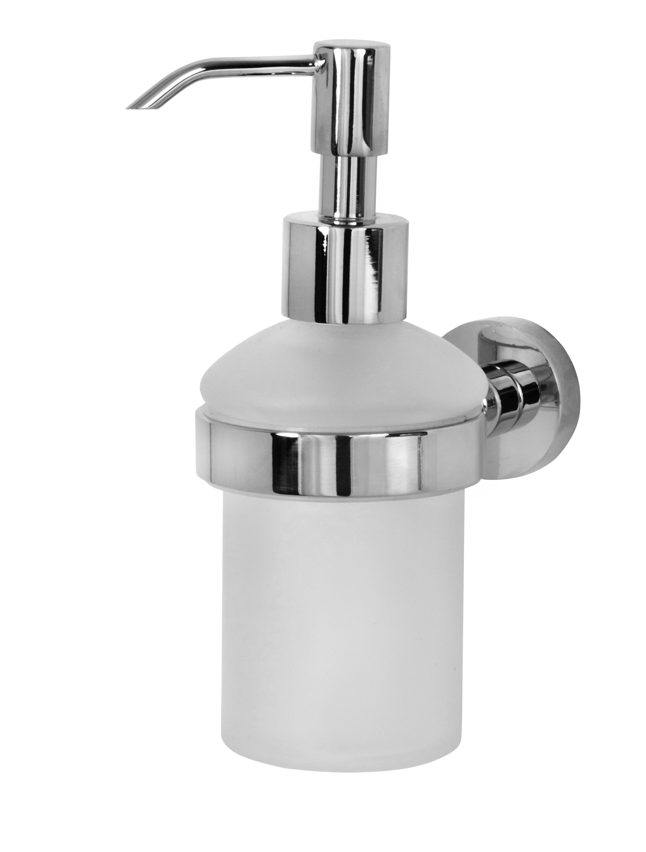 K323 מחזיק סבון נוזלי ניקל דגם