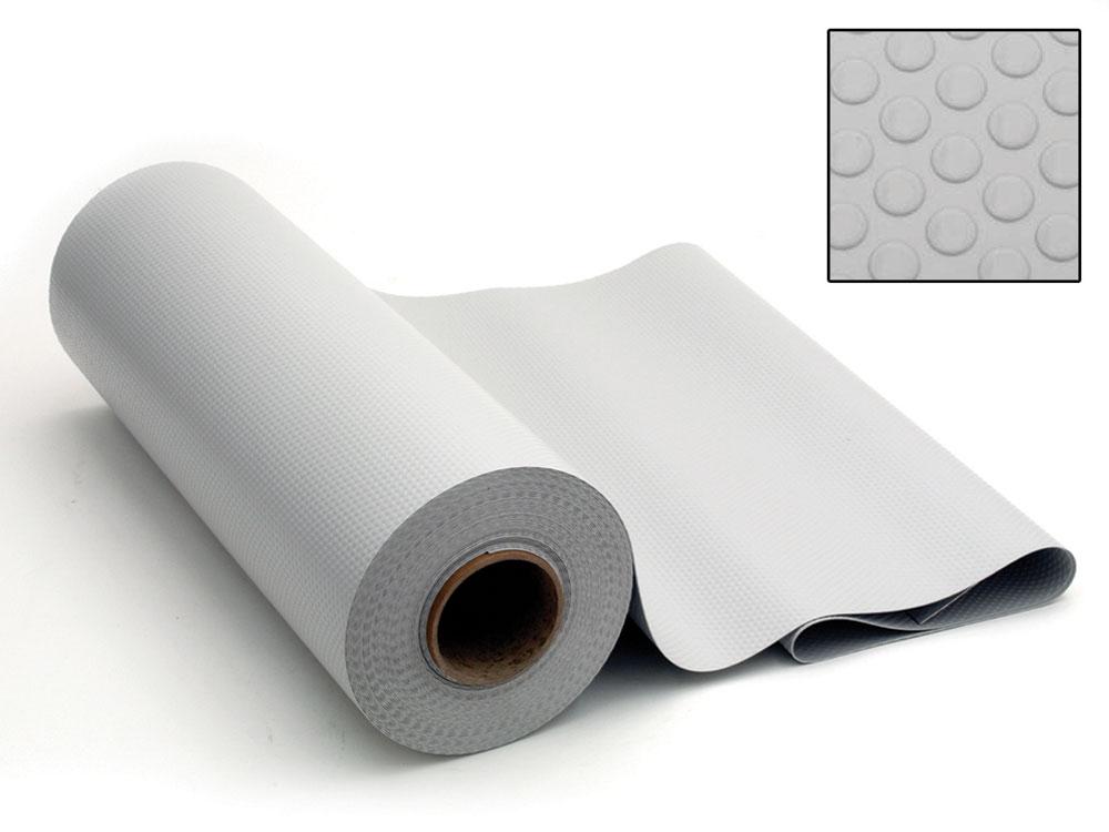 שטיח גומי אפור/לבן/גרפיט למגירות