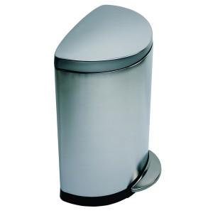 פח DLX חצי עגול 30ליטר נירוסטה CW1825