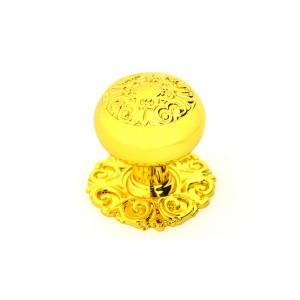 כפתור מעוצב דגם 4023 +בסיס זהב