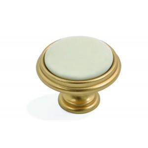 כפתור דגם 77P זהב מט
