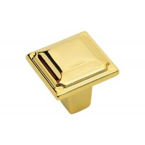 כפתור זהב מבריק דגם WPO683