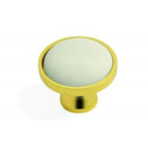 כפתור דגם 8256 זהב שמנת