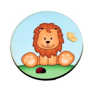 כפתור עגול אריה TYD005
