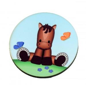 כפתור עגול סוס TYD010