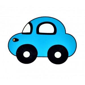 כפתור מכונית כחולה TYD075