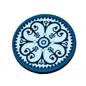 ור מנדלה רטרו תכלת מסגרת כחולה TYD119