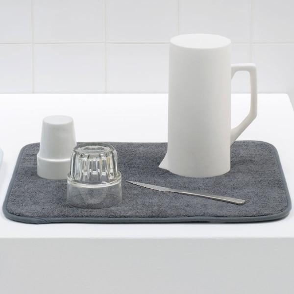 משטח מיקרופייבר לייבוש כלים – אפור כהה Brabantia