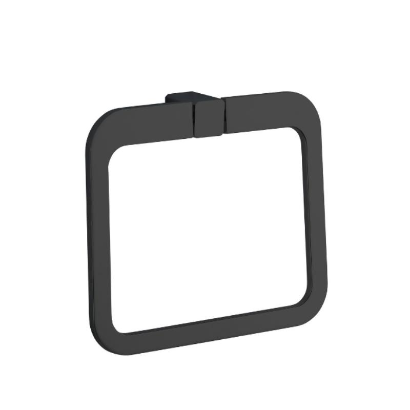 טבעת למגבת URBAN שחור מט