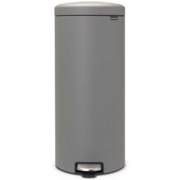 פח פדל 30 ליטר אפור בטון מינרלי Brabantia – NewIcon
