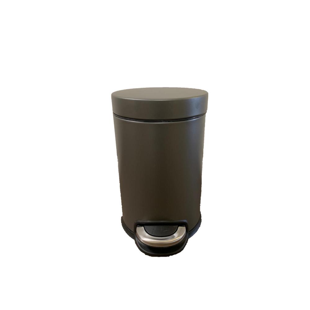פח אשפה 3 ליטר JAVA עגול – פלטניום