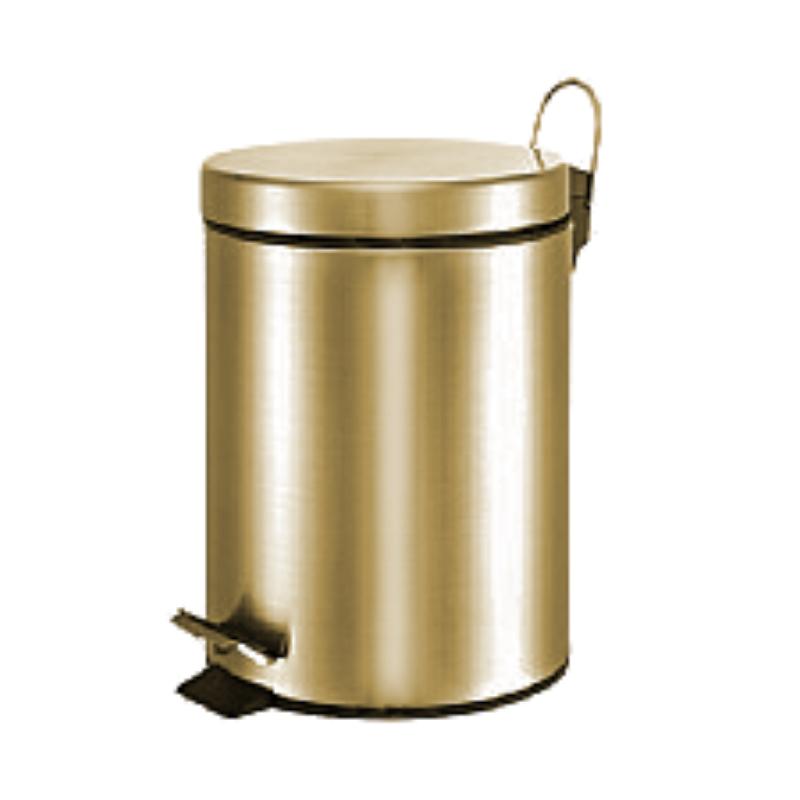 פח אשפה עגול 3 ליטר- ברונזה