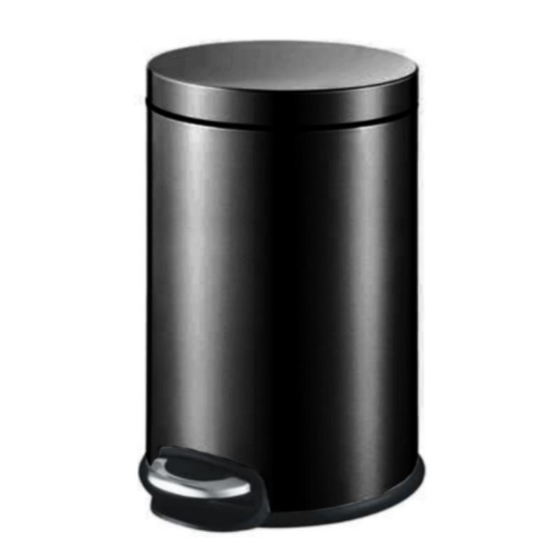 פח אשפה 5 ליטר JAVA עגול – שחור מט