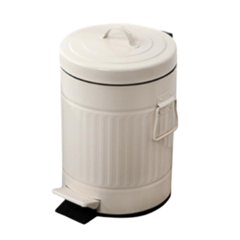 פח אשפה 3 ליטר רטרו – שמנת