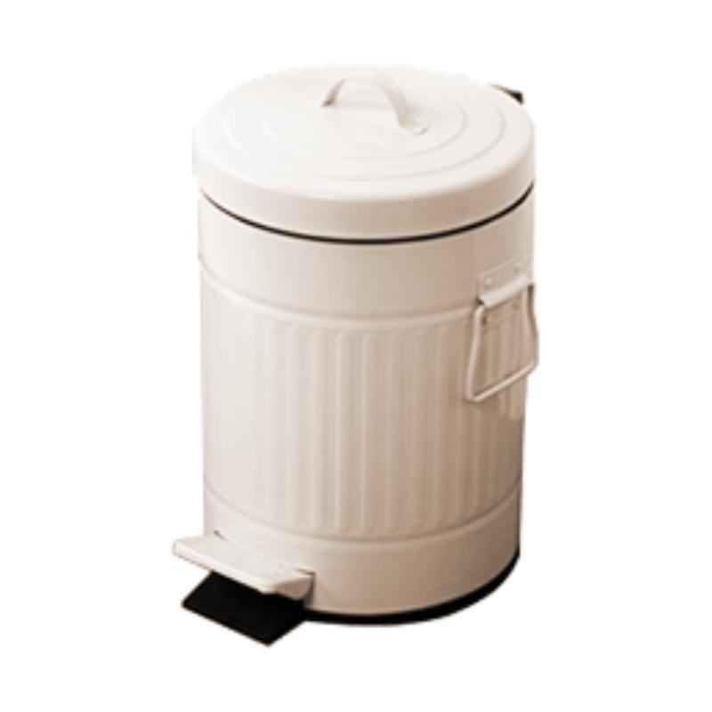 פח אשפה 20 ליטר רטרו – שמנת