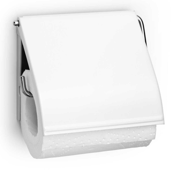 מתקן קיר לנייר טואלט לבן Brabantia