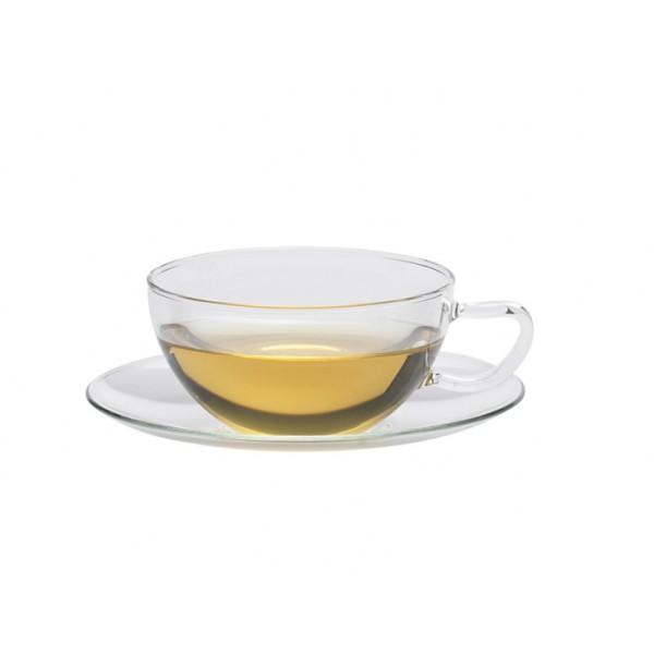 סט 6 ספלי תה טרנדגלס Opus +תחתית Trendglas JENA