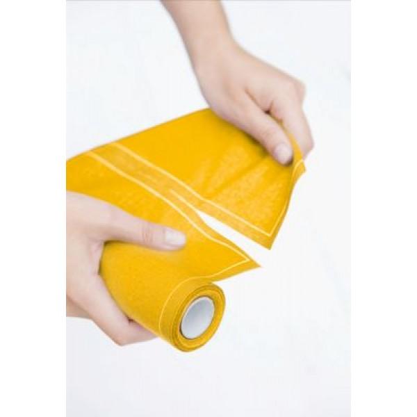 MYdrap – מיידרפ-גליל 12 מפיות בד 40/40 צהוב