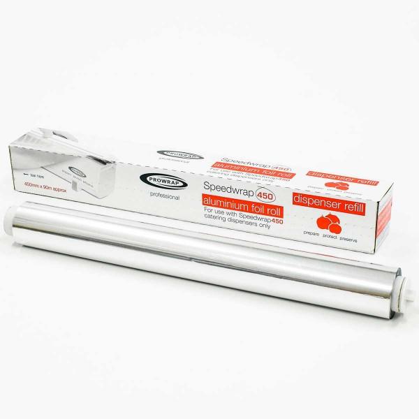 נייר כסף Prowrap – גליל מילוי למכשיר עטיפה מוסדי Speedwrap 450