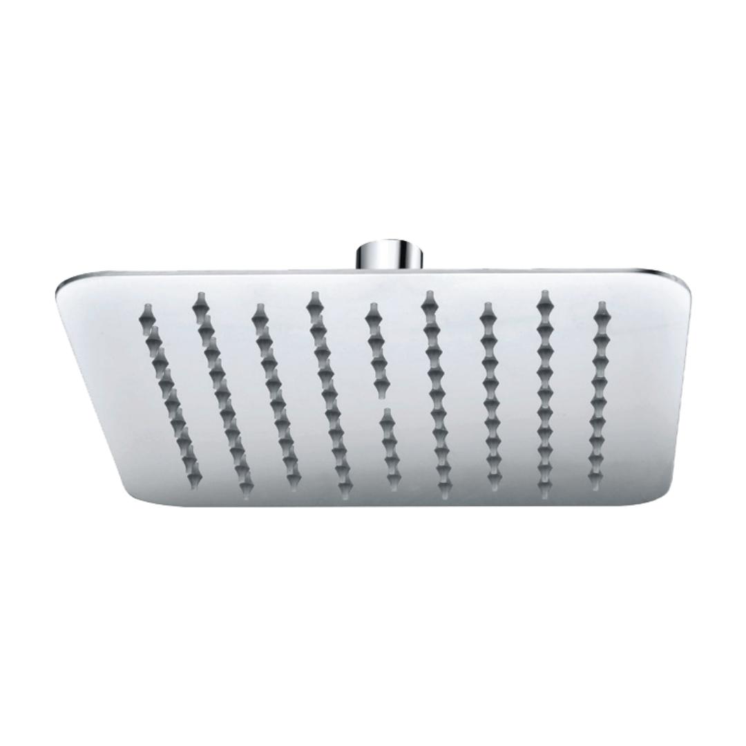 ראש מקלחת מרובע אטלנטיק ניקל מבריק