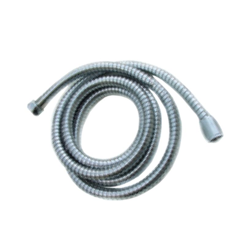 צינור PVC למקלחת 1.5 מטר | 2.0 מטר ניקל מבריק