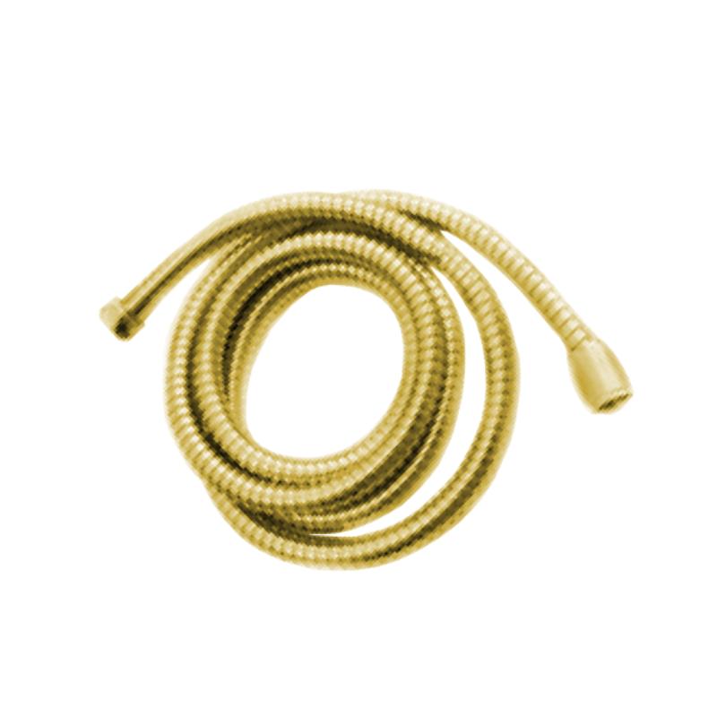 צינור שרשורי 1.50 מטר איכותי למקלחת זהב