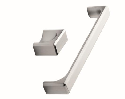 ידית בסגנון מודרני – 53796 Fold – ניקל מט מוברש