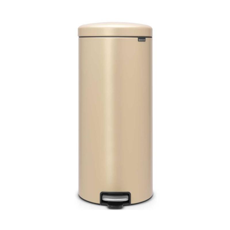 פח פדל 30 ליטר זהוב מינרלי Brabantia – NewIcon