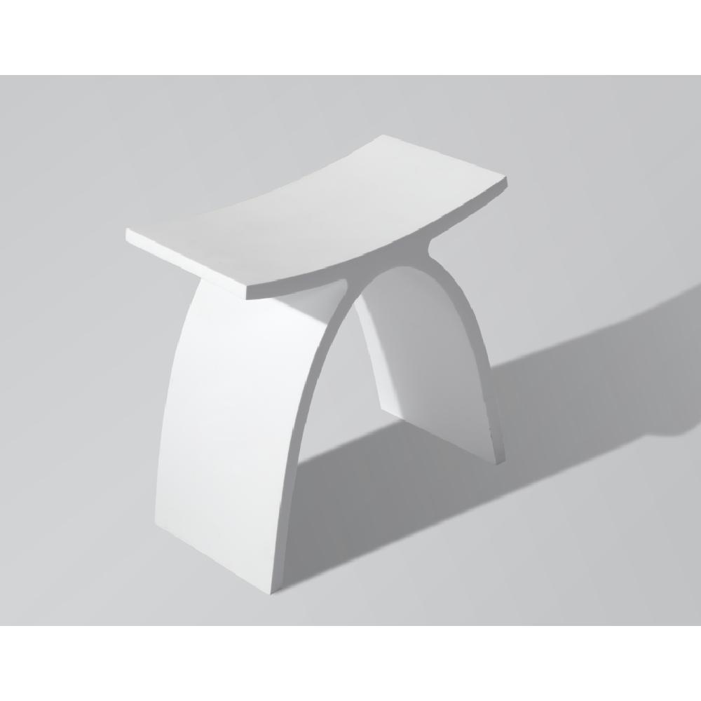 סטול ניאולייט דגם A לבן מט
